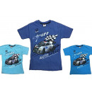 Kids Boys T-Shirt 104-128 Print Car Drift
