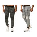 Fashionable men's trend pants sports pants lei