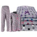 Damas piyama 2 piezas pijama traje largo