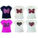Großhandel Kinder- und Babybekleidung: Kinder Mädchen  Shirt T-Shirt Kids Wear Herz