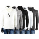 Men's Long Sleeve Shirts Pullover Hooded Sweat