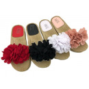 Ladies Woman Summer Trend Slipper Beach Shoe Flowe