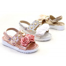 Kids Girl Trend Summer Metallic Sandal