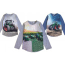 Kids Boys Sweatshirt Tractor Farmer Farmer