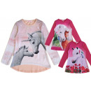 Kids girl trend sweatshirt horse unicorn