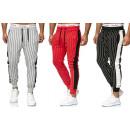 Men's trend sports pants stripes leisure pants