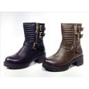 Damen Stiefel Boots Schuhe Shoes Stiefeletten