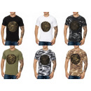 Men's Short Sleeve T-shirt Round neck print