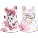 Kinder Mädchen  Trend Kleid Pferd Einhorn Longshirt