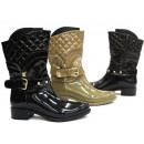 Damen Winter Stiefel Boots Schuhe Shoes