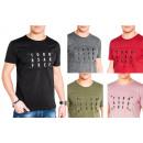 Men's Men's Summer Trend T-Shirt Basic Shi