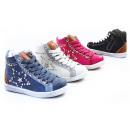 Großhandel Schuhe: Kinder Mädchen Trend Sneaker Stern Nieten