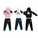 Kids Girls 2-Piece Jogging Suit Glitter 4-14