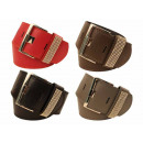 Belts mix different colors models Size