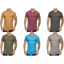 Men's Short Sleeve T-Shirts Round neck print
