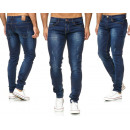 Men's Men's Trend Jeans Vintage Destroyed