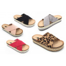 Ladies Woman Summer Trend Slipper Mule