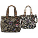 ingrosso Borse & Viaggi: tessuto bag Damen Camouflage patch