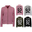 Großhandel Pullover & Sweatshirts: Damen Strick Jacke Jacken Sweat Pullover Zipper