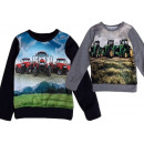 Kids Boys Sweater Tractor Farmer Farmer Long