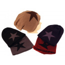 Slouch Beanie lined Star Cap Hats Rapper