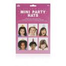 groothandel Feestartikelen: Kinderen mini feestmutsen - Girl