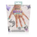 wholesale Piercing / Tattoo: Glitter Hennatattoos Pink and purple
