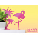 wholesale Wall Tattoos: Fluffy Stickers - Tropical
