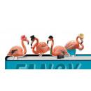 grossiste Materiel de bureau: Signets - Fantaisie Flamingos