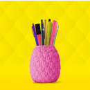 mayorista Material de oficina: portaplumas de la piña en rosa
