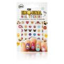 wholesale Nail Varnish:Emoji Nail Stickers