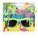 hurtownia Make-up: Tropical stylu Glasses- Flamingo