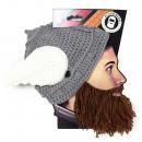 Barbarian Thor Brown Beard Beard Hat