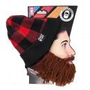 Barbarian Lumberjack Brown Beard Beard Hat