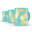 grossiste Tasses & Mugs: Tasse de café  Tropical Autocollants