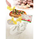 wholesale Kitchen Gadgets: Pizza Pizza Cutter Rider white