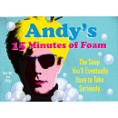 wholesale Business Equipment: Andy's Fifteen Minutes of Foam