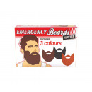grossiste Farces et attrapes: barbes hipster d'urgence