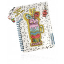 wholesale Booklets & Blocks: Notebook with pencil case