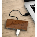 wholesale USB-Accessories:Super Hub - Biscuit