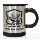 Star Wars selbstumrührender Becher Yoda