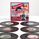 wholesale Drinking Glasses: Rockabilly Records Coaster Set of 6