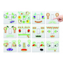 Light Switch  Sticker Set Glow in the dark