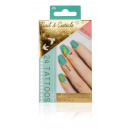 groothandel Piercings & tattoos: Metallic Nail  & Cuticle tatoeages