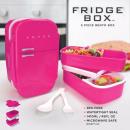 groothandel Huishouden & Keuken: Koelkast lunchbox in roze