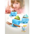 wholesale Models & Vehicles: Cupcake shape  elephant with Fork Set of 2