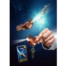 Großhandel Windlichter & Laternen: Laternenfisch Schlüsselanhänger mit LED