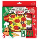 Süßwaren / Fruchtgummi Pizza zum selbst Belegen