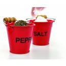 Salt and pepper spice bucket