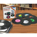 wholesale Drinking Glasses:Records Coaster Set of 6